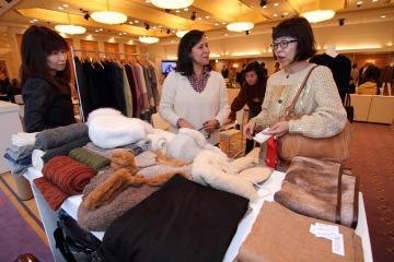 Confecciones de alpaca impresionarán a compradores de potencias asiáticas