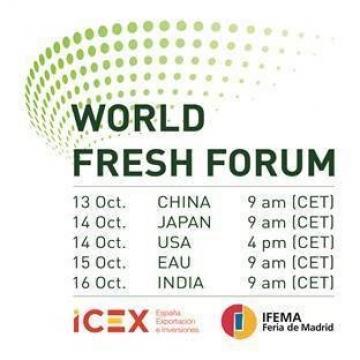 El WORLD FRESH FORUM: un espacio de networking empresarial e institucional para aprovechar las oportunidades en China, Japón, Estados Unidos, India y EAU