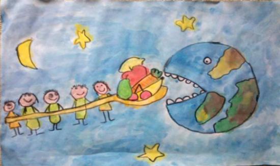 Menores Elaboraran Carteles Alusivos Al Dia Mundial De La Alimentacion