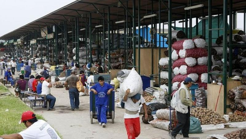 1.18 millones de toneladas de productos agrícolas ingresaron al GMML en los primeros siete meses del año