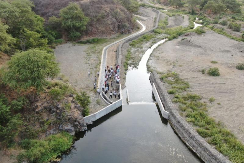 2.600 agricultores se benefician con la rehabilitación de 10 canales de riego