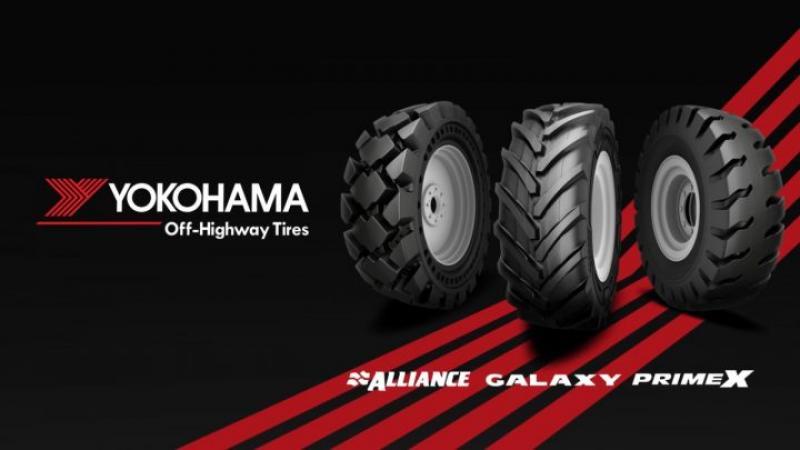 Alliance Tire America ahora es Yokohama Off-Highway Tires America
