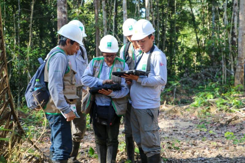 Capacitan a 32 jóvenes de 13 regiones en temas de aprovechamiento forestal