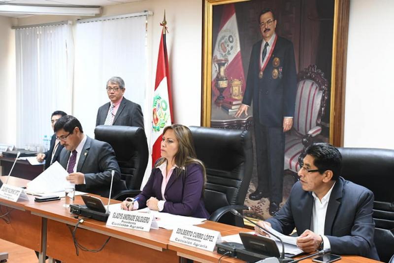 Comisión Agraria del Congreso aprueba dictamen del proyecto que amplia vigencia del régimen laboral agrario