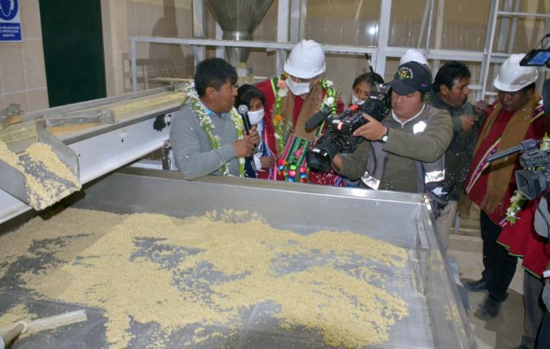 Construirán cuatro plantas procesadoras de quinua en Apurímac