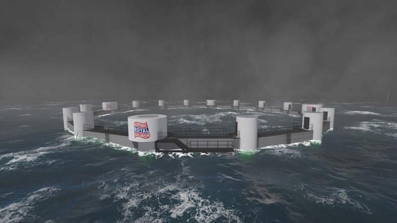 Desarrollan primera granja de salmón submarina y controlada remotamente