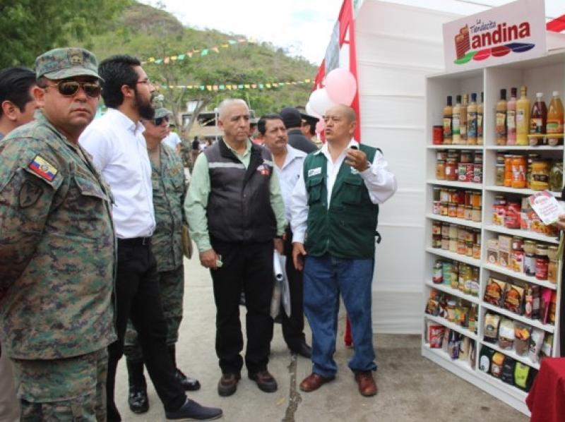 """Ecuador muestra interés por \""""La Tiendecita Andina\"""""""