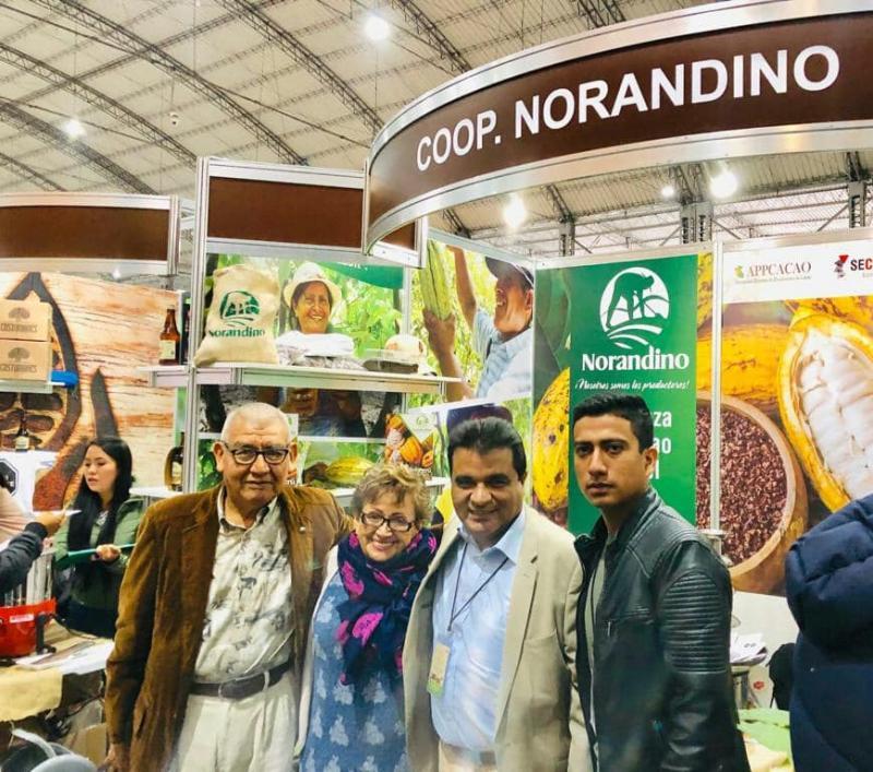 Empresa alemana reconoce a Norandino como mejor proveedor mundial de productos orgánicos