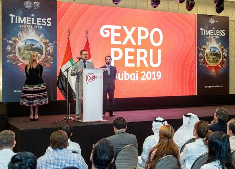 Empresarios alcanzan US$ 24 millones en expectativas de negocios durante Expo Perú Dubái