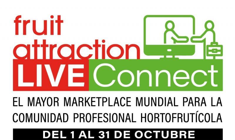 Fruit Attraction LIVEConnect, el mayor Marketplace y Red Social Profesional del mundo especializada en el sector hortofrutícola
