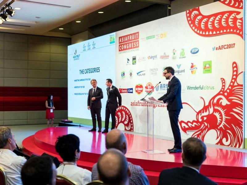 Ganadores de los Asia Fruit Awards