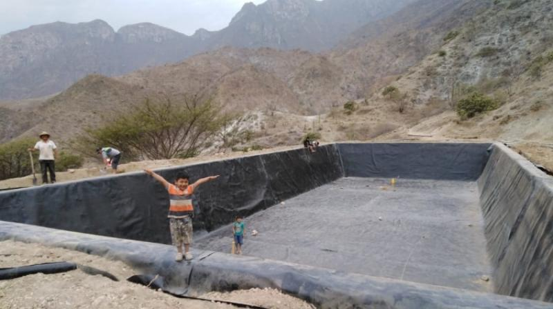 Gobierno Regional de Cajamarca culminó 15 reservorios en Contumazá