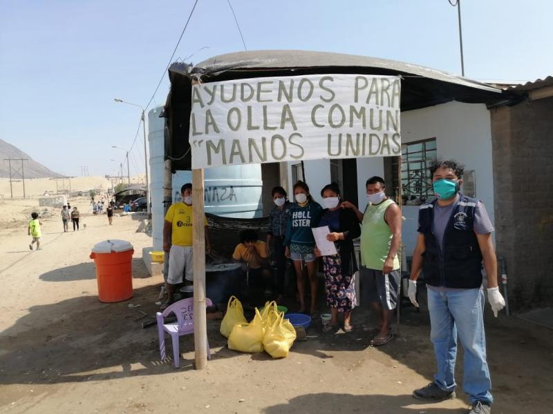 Grupos parlamentarios buscan fortalecer y garantizar labor de ollas comunes