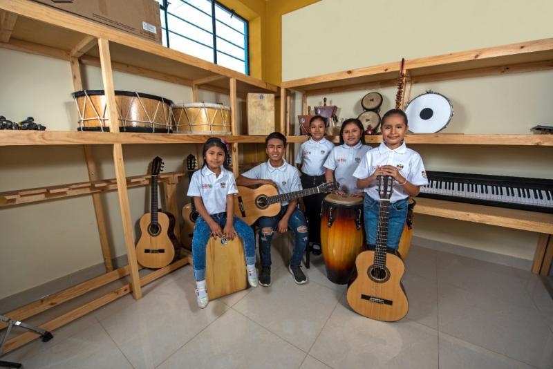 Hortifrut promueve la educación y la cultura en beneficio de cerca de 5.000 niños y jóvenes de comunidades de La Libertad