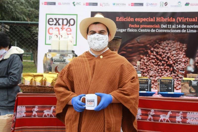 Hoy se inicia etapa virtual de Expo Café Perú 2021
