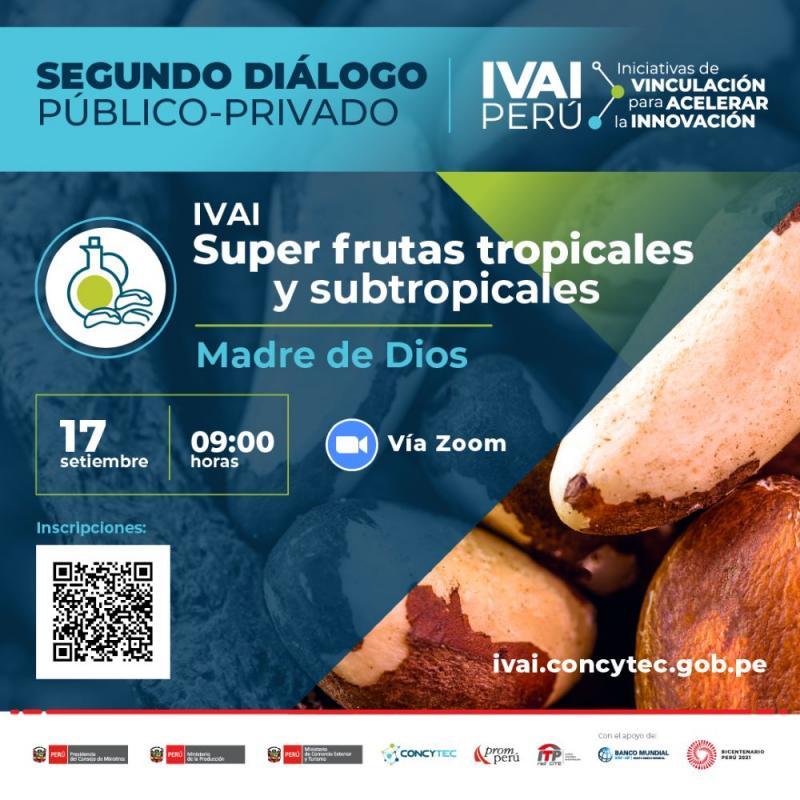 Hoy se realiza el segundo diálogo público-privado de la iniciativa de vinculación para acelerar la innovación correspondiente a frutas tropicales y subtropicales