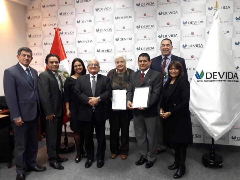 Huánuco: firman nueva adenda para impulsar el desarrollo del cacao