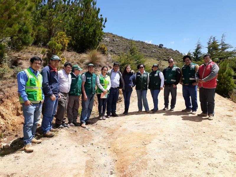Identifican zonas altoandinas de Lambayeque para forestación y reforestación