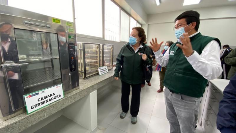 INIA inaugura modernos laboratorios de recursos genéticos para potenciar calidad agrícola de la región de Lima