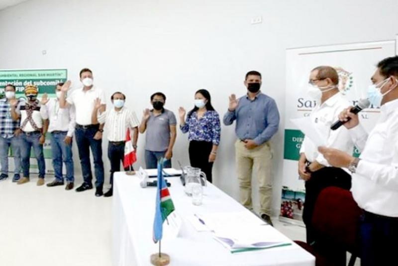 Instalan grupo de trabajo para reducir la deforestación en San Martín