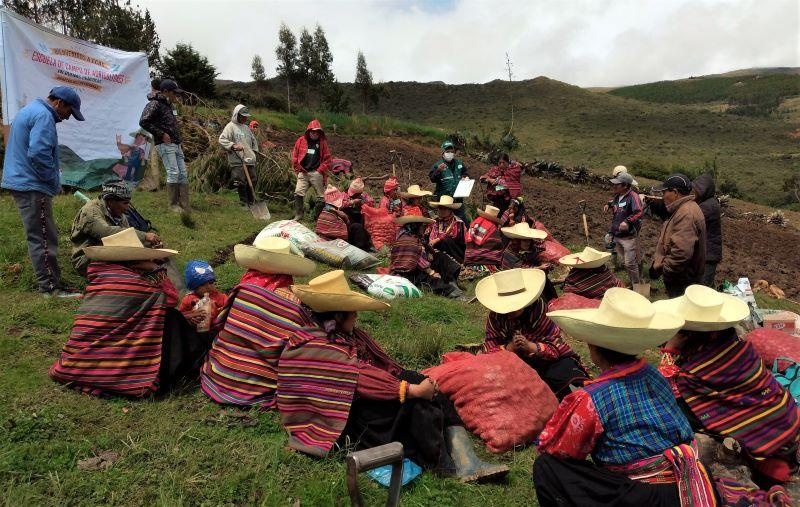 Lambayeque: comunidades quechuahablantes de Incahuasi fortalecen producción de cultivos andinos