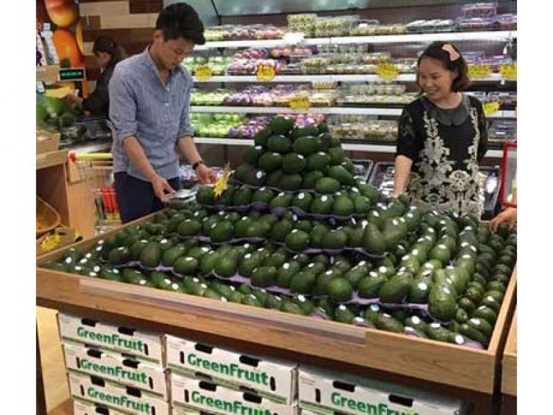 Los consumidores jóvenes de China prefieren la palta como un batido