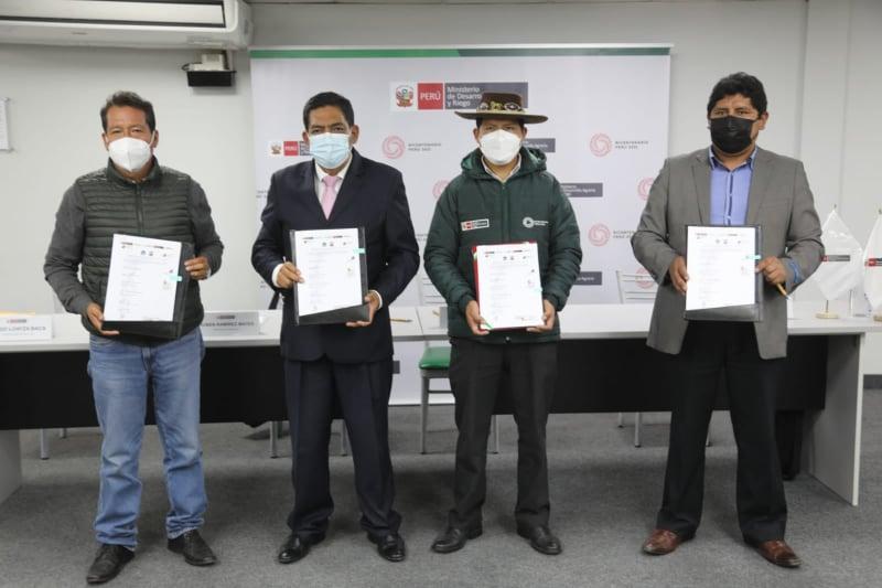 Midagri y Minam apoyarán recuperación de zonas afectadas por incendios forestales en Cusco