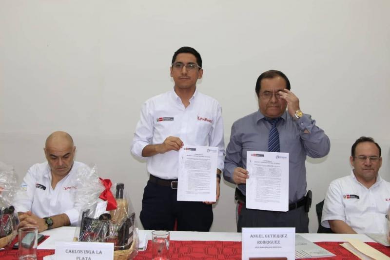 Minagri y GORE Ucayali alcanzan 26 acuerdos para potenciar agro en la región