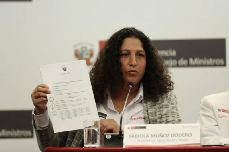 Ministra Muñoz anunció que este año se presentará el Plan Nacional de la Agricultura Familiar