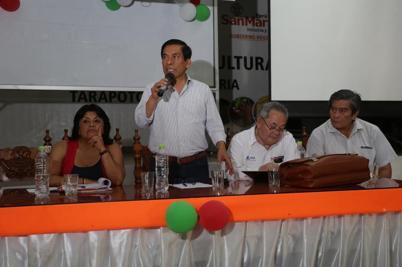 Ministro de Agricultura pide a autoridades de San Martín priorizar la construcción de defensas ribereñas