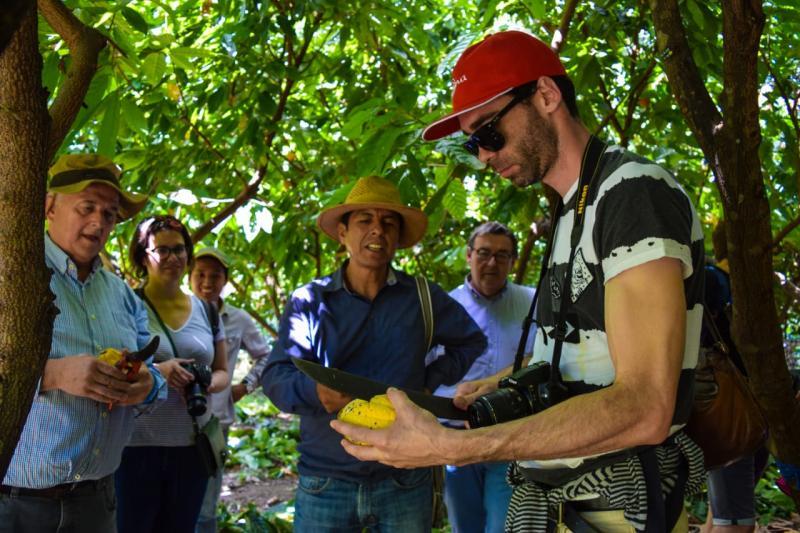Misión de empresarios europeos y asiáticos conocen prestigioso cacao peruano