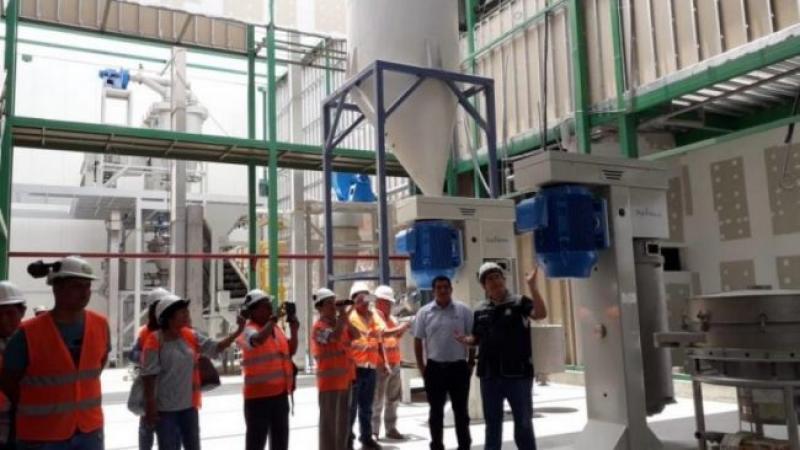 Norandino exportó 17 toneladas de pasta de cacao a la empresa belga Belvas
