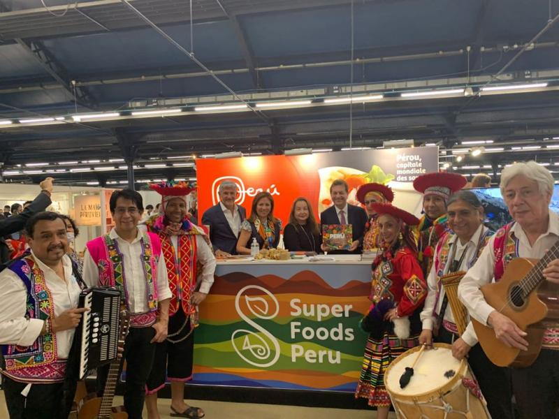 Perú invitado de honor en prestigioso festival gastronómico Omnivore y París Coffee Show