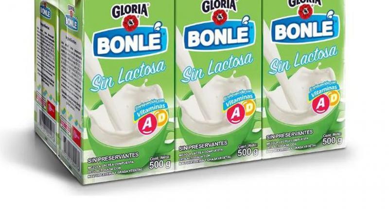 Poder Judicial: Bonlé Leche Evaporada Deslactosada de Gloria contenía elementos no lácteos
