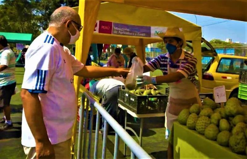 """Productores podrán sumarse a mercados itinerantes """"De la chacra a la olla"""""""