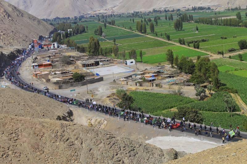 Proyecto minero Tía María pondría en peligro producción agrícola del Valle del Tambo