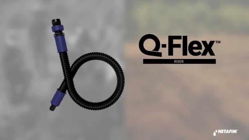 """""""Q-flex"""", una solución innovadora y flexible para conectar las tuberías de PVC enterradas con las mangueras de goteo"""