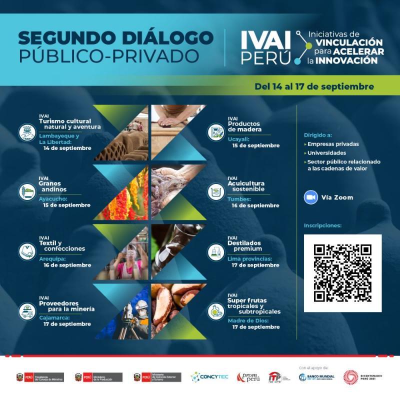 Segundo diálogo público-privado de las Iniciativas de Vinculación para Acelerar la Innovación arranca el 14 de septiembre