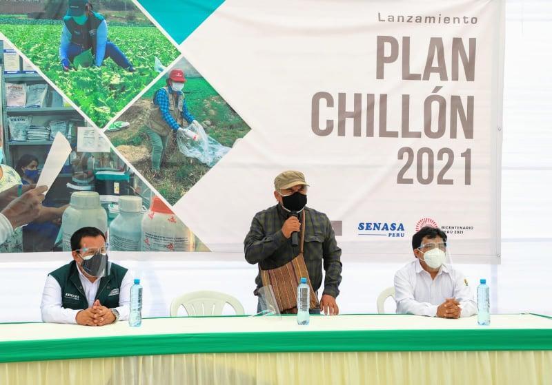Senasa pone en marcha el Plan Chillón 2021 para reducir impacto del uso de plaguicidas en más de 18 mil hectáreas
