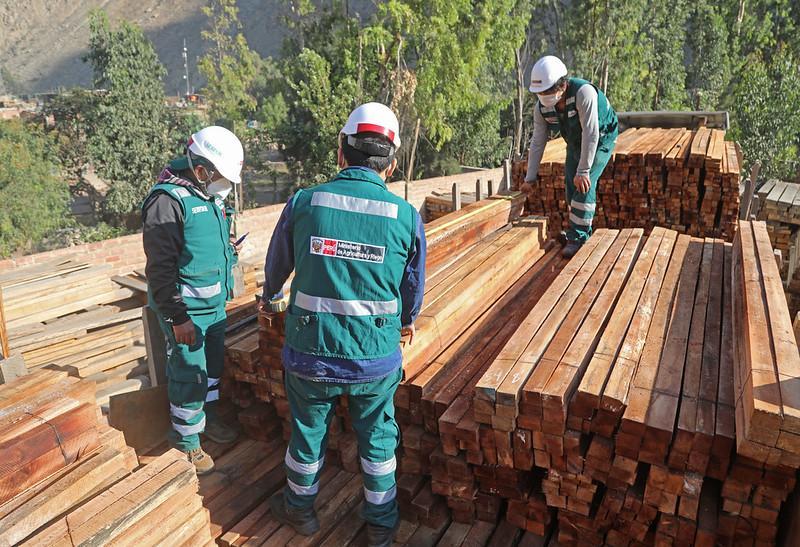 Serfor aprueba protocolo de control forestal maderable para transporte terrestre