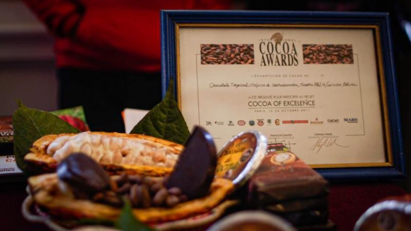 Tres muestras de cacao peruano seleccionadas entre las 50 mejores del mundo