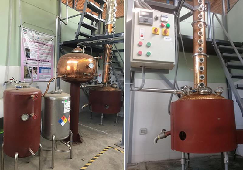 UNALM cuenta con planta piloto para producir etanol