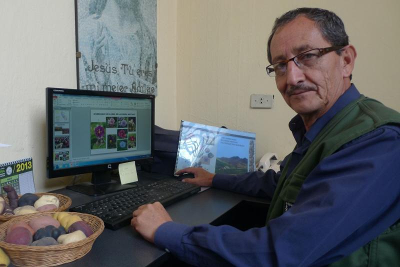UNALM realiza inventario definitivo de más de 4.000 papas nativas