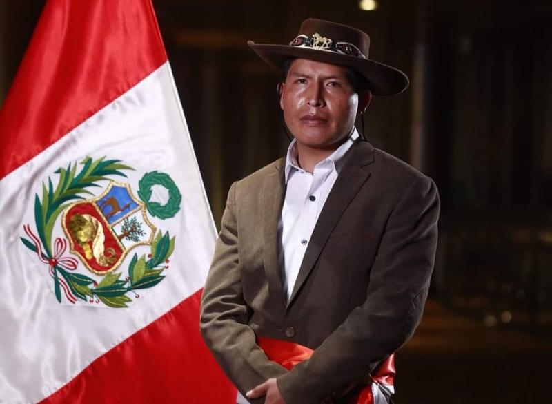 Víctor Maita juró como nuevo ministro de Agricultura haciendo énfasis en la seguridad alimentaria