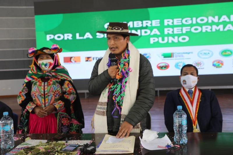 Víctor Maita: Segunda reforma agraria busca garantizar agua y riego tecnificado para el agro