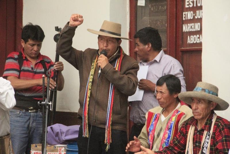 Víctor Raúl Maita Frisancho es el nuevo presidente de la Confederación Nacional Agraria