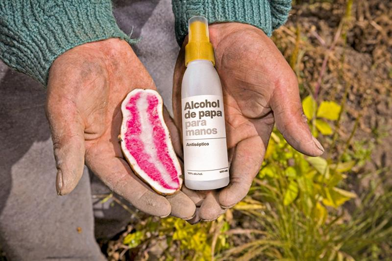 Vodka 14 Inkas elabora alcohol de papa