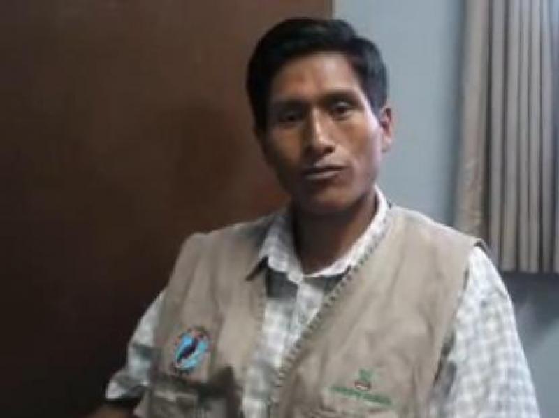 Wilson Sucaticona habla sobre las carencias del sector cafetalero