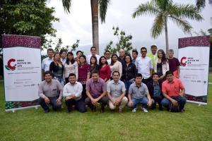 75 extensionistas fueron capacitados para el desarrollo de cultivos de café sostenible adaptado al cambio climático
