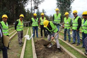 Agro Rural certificó a 73 productores de Áncash y Huánuco como promotores forestales y operadores de riego tecnificado